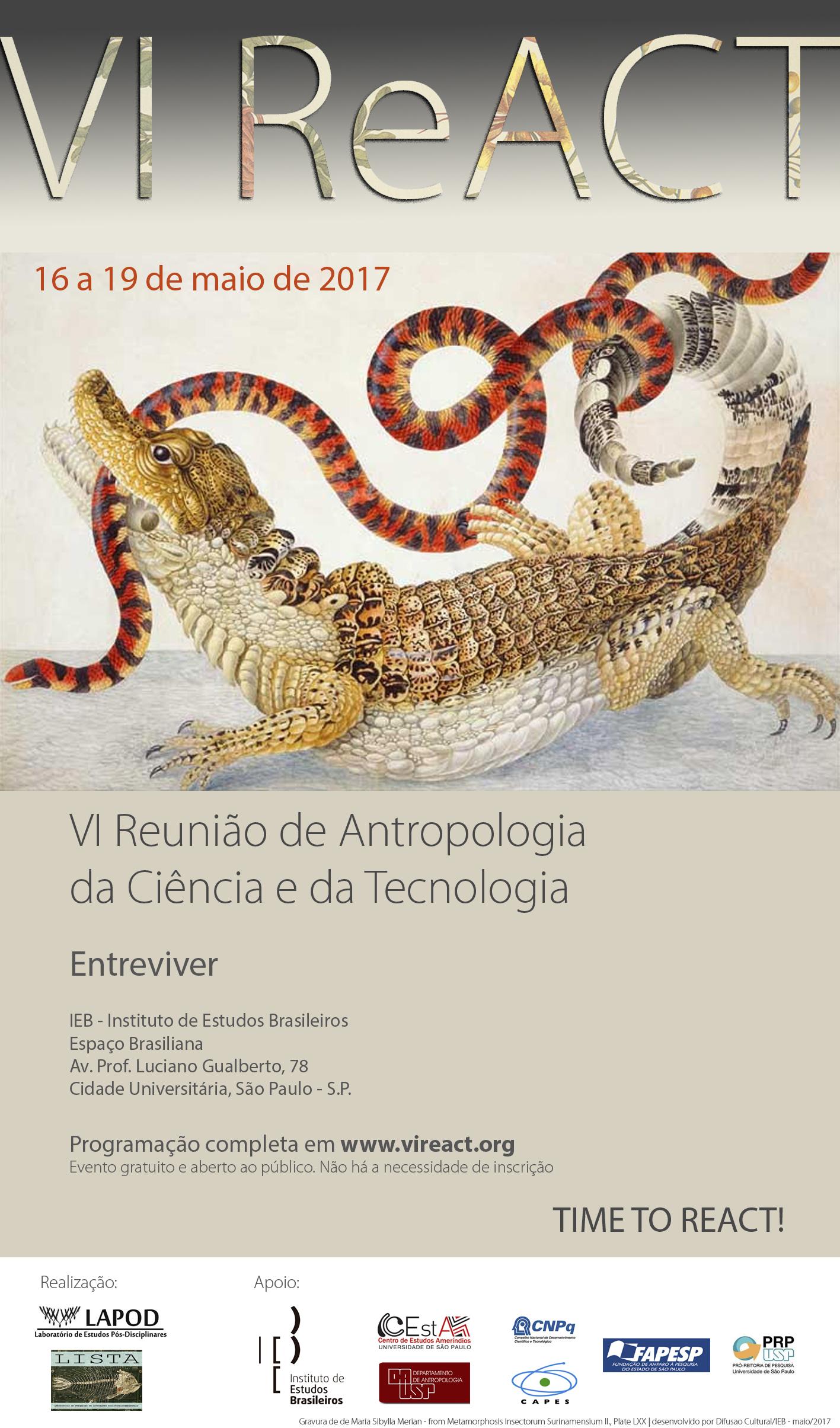 Visualizar v. 3 n. 3 (2017): Trabalhos Completos Apresentados nos Seminários Temáticos da VI Reunião de Antropologia da Ciência e Tecnologia