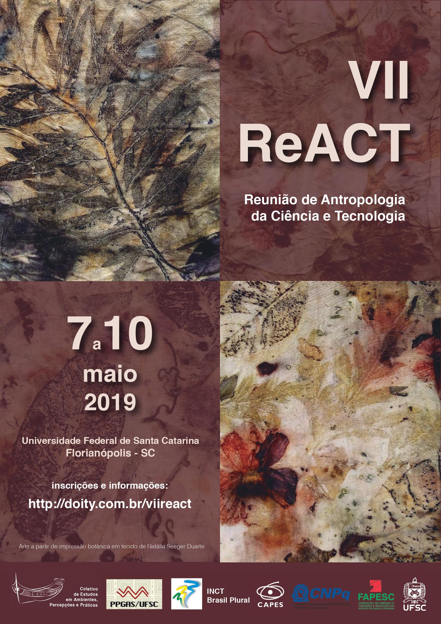 Visualizar v. 4 n. 4 (2019): Trabalhos Completos Apresentados nos Seminários Temáticos da VII Reunião de Antropologia da Ciência e Tecnologia